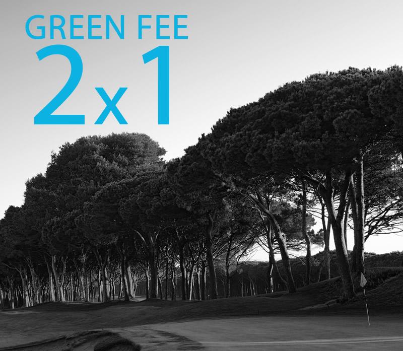 Aprofita la nostra promoció GREEN FEE 2x1!